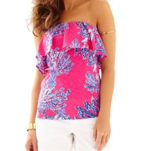 Lilly Pulitzer Wiley Tube Top